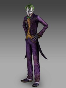 Arkham Asylum and City Joker