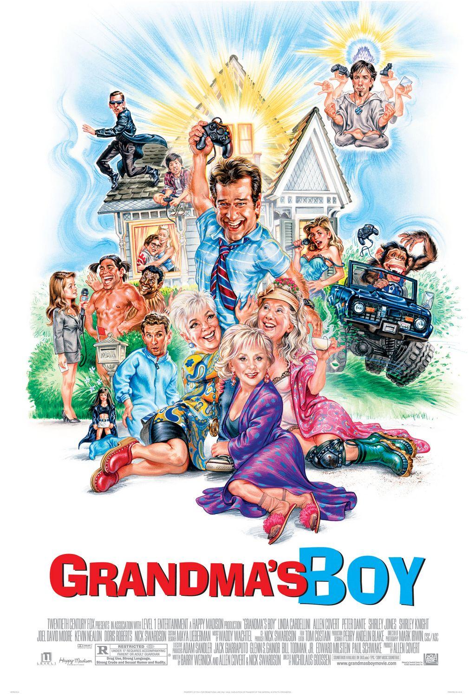 Grandmother fucks grandson