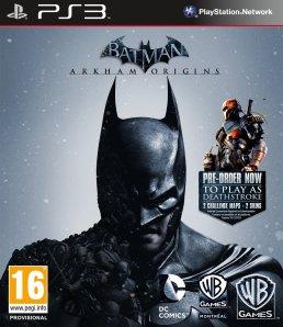 Arkham Origins Cover