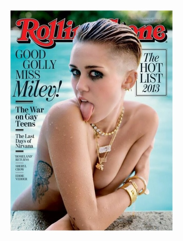 Miley Cyrus, Rolling Stone cover