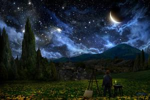 Alex Ruiz, Starry Night