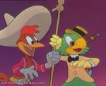 Jose Carioca and Panchito