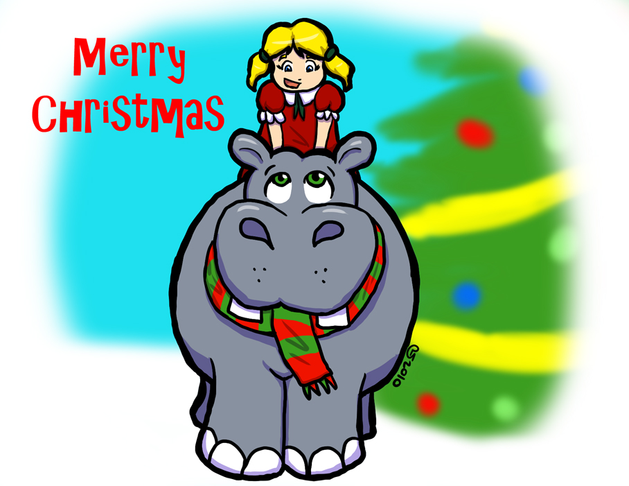 I Want a Hippopotamus For Christmas | Lucien Maverick's Blog