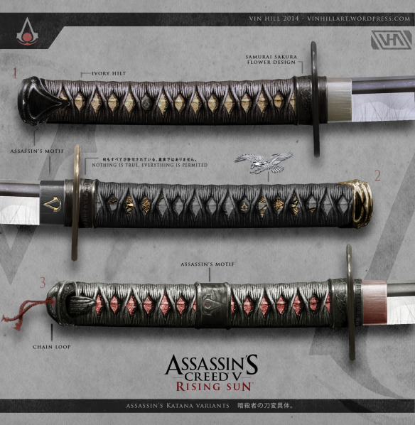 Assassin's Creed V Weapons
